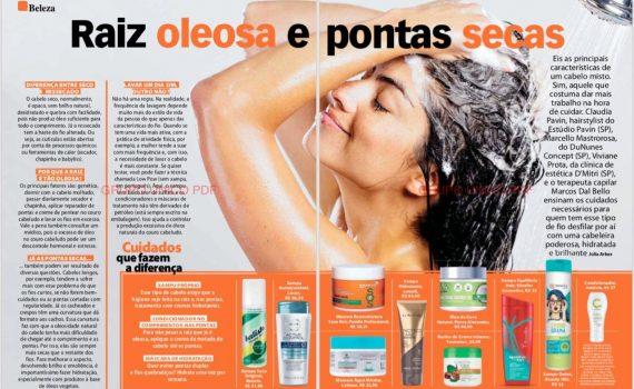 """Marcos DallBello na Revista Ana Maria – """"Raiz Oleosa e pontas Secas"""""""