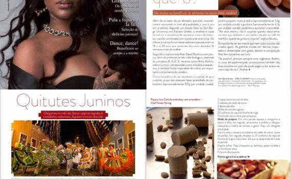 """Revista """"Expressão ABC e Litoral"""" com os especialistas com as Chefs Lidiane Barbosa e Vanda Hering e o Nutricionista Alan David"""